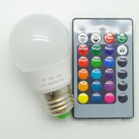 - LAMPU & RGB LED RGB Control Bohlam Remote