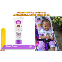 PERA283 80 RUAM CREAM ML POPOK ANTIBACTERIAL DIAPER KRIM SLEEK BABY
