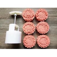 Cetakan Kue Bulan Nastar Mould Mold Plunger/Mooncake 100gr Hello Kitty