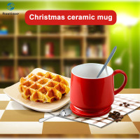 3D Christmas Mug 3D Ceramic Cup Cute Coffee Mug for Water Tea Hom 9654