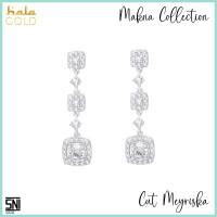 Anting Emas Hala Gold Cut Meyriska Makna Collection 3AZ0524