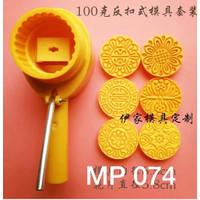 Cetakan Kue Bulan Nastar Mould Mold Hand Press/Moon cake Plunger 100gr