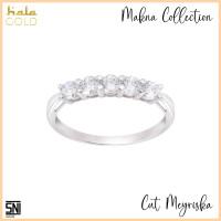 Cincin Emas Hala Gold Cut Meyriska Makna Collection 3MZ0086