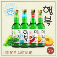 Happy Soju Complete Package All Flavors
