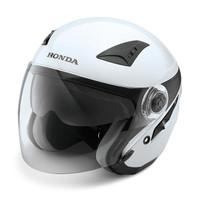 Helm Honda Luxury Helmet White 87100LXSLVM