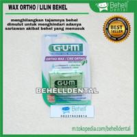 Orthodontic wax lilin kawat gigi GUM . anti sariawan behel