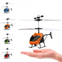 Hb-D715 Mini Helicopter Induction Aircraft Remote Control RC Drone wi