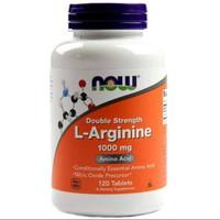Dijual Now Foods L-Arginine 1000mg 120 Tablet Suplemen Limited