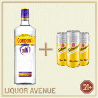 Gordon / Gordon's Gin Premium Dry 750ml + 3 Can Tonic Water