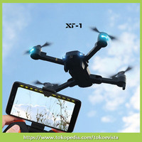 EvistaS Xt1 2.4G 4 Channel 6Axis RC Drone Helicopter Realtime Tra