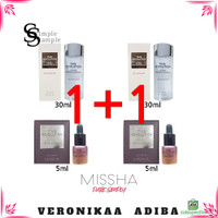 MISSHA 4th time revolution mini kit 1 1 essence 30ml & night repair 5m