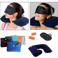 Hotsale Inflatable Travel Pillow Bantal Leher & Tas Travel Cloth Bag