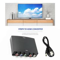 Konverter YPbPr to HDMI AV HDCP YPbPr / RGB R / L Audio ke HDMI