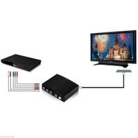 Konverter HDMI AV YPbPr / RGB R / L Audio ke HDMI