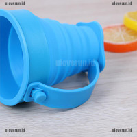 Folding Cup Collapsible Foldable Telescopic Drinkware Travel Camping