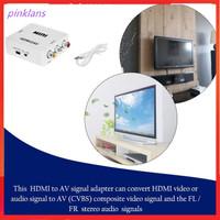 Adapter Konverter Hdmi Ke Mini Composite Cvbs Rca Av 1080p Untuk Tv