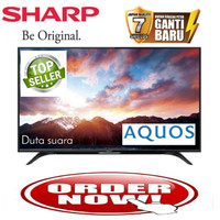 promo TV LED SHARP 50 Inch 2T-C50AD1i Full HD DVB-T2 Digital TV