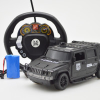 RC Cars Remote Control Drift Police 4 Wireless Car Model Toys Gift