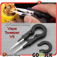 Ready!! Vape Tweezer V5 Ceramic New Edition Limited Stock Bukan V2