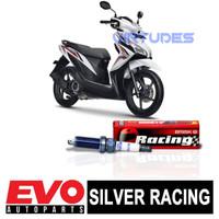 BUSI V10B505 BRISK Silver Racing AR12YS untuk Motor Honda Vario 125