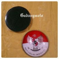 GE Sticker Burung Garuda Metal Dm 3cm Vespa Congo Mobil Antik