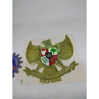 GE Sticker Burung Garuda Vespa Gs Congo Mobil New Old Stock