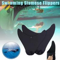 Kaki Katak Bentuk Ekor Mermaid Untuk Latihan Renang/Diving