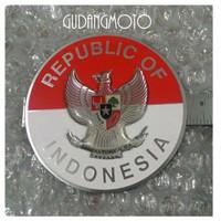 GE Vespa Sticker Metal Burung Garuda Congo Vbb 60s