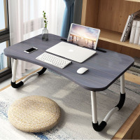 Stand Meja Laptop Lipat Foldable Notebook Portable Desk Table