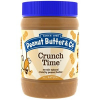 Promo Peanut Butter & Co. Crunch Time Crunchy Peanut Butter 16 oz 454