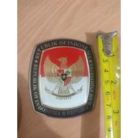 GE Vespa Sticker Metal Resin Burung Garuda Kpu Mobil Cafe Racer Morris