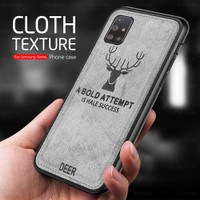 Cloth Fabric case For samsung galaxy S20 FE 4G 5G M51 m31s TPU Fram 4