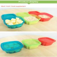 Kotak Makanan Bayi Kontainer Bayi Suplemen Rak Peralatan Makan Siang