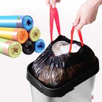 15pcs Roll Liners Tas Serut Portable Untuk Tempat Sampah