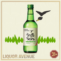 Lotte Chum Churum Original Korea Soju Import 360ml
