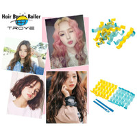 TyReady 12pcs Soft Magic Hair er Bendy Roller DIY Salon Hair Styling