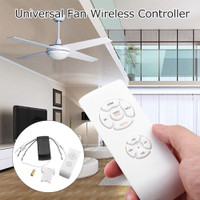 Ceiling Light Lamp Timing Wireless Remote Controller Kit Universal