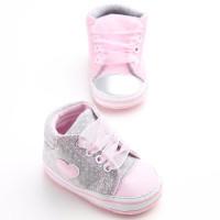 Sepatu Boots Putri Bayi Perempuan Motif Polkadot untuk Musim Semi /
