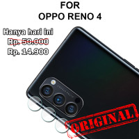 Oppo Reno 4 pelindung kamera anti gores lensa CAMERA TEMPERED GLASS