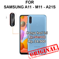 Samsung A11 - M11 - A21s pelindung kamera lensa CAMERA TEMPERED GLASS