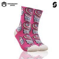 Stayhoops - Kaos Kaki Fashion - Teeth and Lamb ( Muklay Edition)
