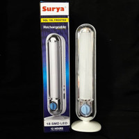 Surya Lampu Emergency LED SQL 18L Frosted Rechargeable