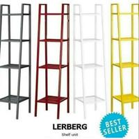 produk kualitas RAK IKEA LERBERG KECIL 4 TINGKAT Grosir