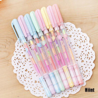 Hiint 2Pc Cute Highlighter Pen Marker Stationary Point Pen Ballpen 6