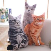 Boneka Plush Kucing Untuk Bantal Sofa # ZH