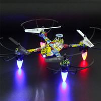 4 Channel RC Drone Mini Headless Mode Helicopter 2.4G 6-Axis Real- AP6