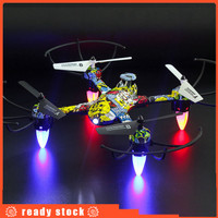 4 Channel RC Drone Mini Headless Mode Helicopter 2.4G 6-Axis Gyro H 54