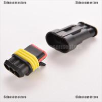 5Pcs Set Plug Connector Kabel Listrik 3 Pin Anti Air untuk Mobil