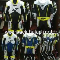 PROMO BESAR wearpack balap motor satu set lengkap