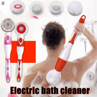 Electric Spin Massage Shower Brush Bath SPA Cleaning Waterproof B F959